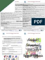 Diptico Actividades Paraescolares Infantil-primaria 2012-2013 PROPUESTA INICIAL