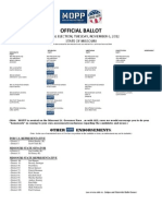 Mopp Endorsements 2012