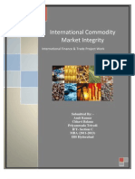 Ift-commodity Market Integration Project Report