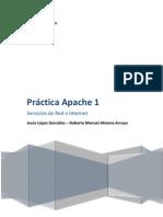 Práctica 1 Apache