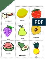 Loteria de Frutas y Verduras-LUZ-Jromo05.Com