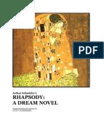 Arthur Schnitzler - Rhapsody, A Dream Novel (Dream Story)