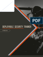 Deployable Security Trainer