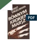 Engelmann, Bernt - Równym krokiem marsz Jak żyliśmy w Niemczech Hitlera Wspomnienia z lat 1933-1939 – 1987 (zorg)