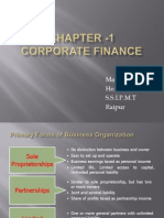 Corporate Finance Final Ppt