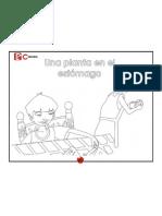 Una Planta en El Estomago