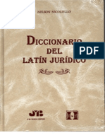 Diccionario de Latin Juridico - Nelson Nicoliello