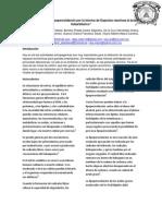 Determinación de Lipoperoxidación por la técnica de Especies reactivas al ácido tiobarbitúrico