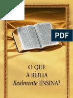 O Que a Bíblia Realmente Ensina