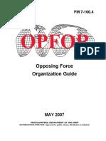 FM 7-100-4 OPFOR