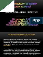 Dobrescu Frăguța Spune stop schimbărilor climatice !