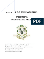 Two Storm Panel Final Report (Connecticut)