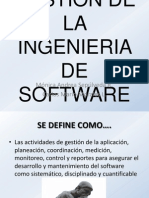 GESTIÓN DE LA INGENIERIA DE SOFTWARE 1