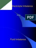 Fluid & Electrolyte Imbalance N132