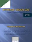 Interfase Liquido Gas