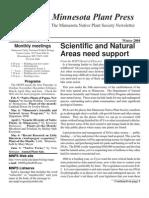 Winter 2004 Minnesota Plant Press ~ Minnesota Native Plant Society Newsletter