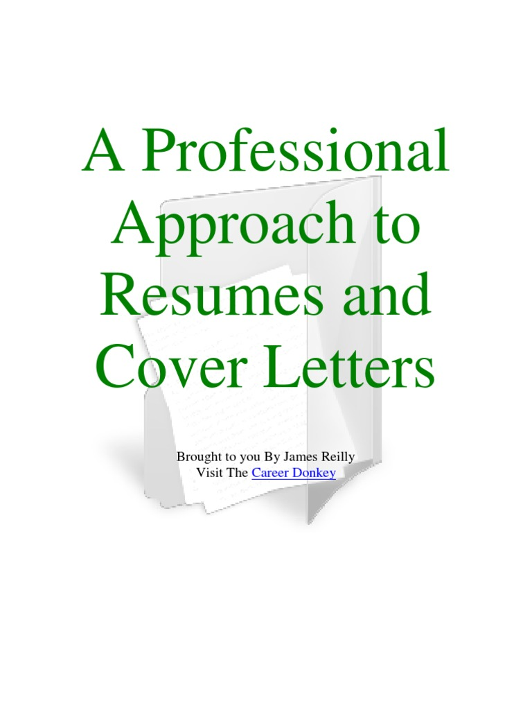 to resumes