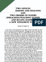 Elders and Deacons