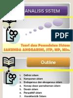 KULIAH 3 4 Definisi Karakteristik Klasifikasi Sistem