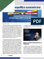 La lógica geopolítica suramericana por Victor Mijares