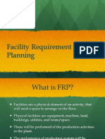 PLO 4-Facilities Requirement Planning