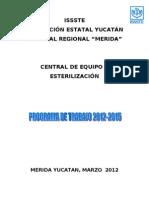 Programa de Trabajo de Ceye 2012-2015 ISSSTE