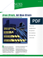 Green Streets Not Mean Streets UIUC Studies on Crime