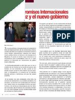 Compromisos Internacionales de Chávez y el nuevo gobierno por Emilio Nouel
