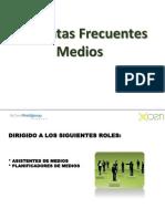 FAQ's  Medios V1.0 -