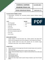 Job Sheet Suspensi Wishbone Pegas Coil