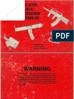 Automatic and Concealable Firearms Design Book Vol III