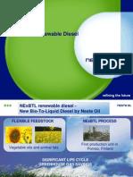 BEST NExBTL Renewable Diesel