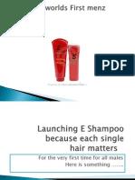 Launching E Shampoo New 2011