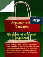 Argumentation Concepts