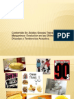 Contenido En Ácidos Grasos Trans de las Margarinas Evolución en las Últimas Décadas y Tendencias Actuales