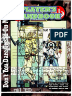 MFG358 Underground Player's Handbook