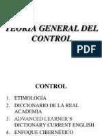 CONTROL.TEORÍA GENERAL I
