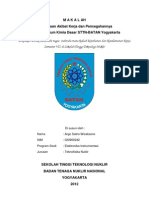 Kecelakaan Akibat Kerja dan Pencegahannya di Laboratorium Kimia Dasar STTN-BATAN Yogyakarta