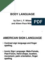 Body Language Humor