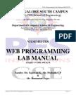 Web Lab Manual