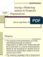 Embracing a Marketing Orientation in Nonprofit Organizations 04-05-10