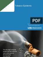 SLIDES 2-The Tobacco Epidemic