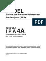 RPP IPA SD Kelas 4 AB