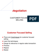 Customer Focused Selling[1]