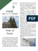 NRCS Post - 1st Issue, October 28, 2012