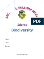 15090103 Science Biodiversity Research 2