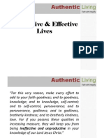 Productive & Effective Lives v2