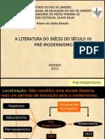 Aula Pre-modernismo - 22-10-2012 Olavo Bilac