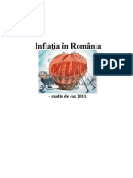 Inflatia in Romania