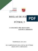Reglas de Juego F5 12-13